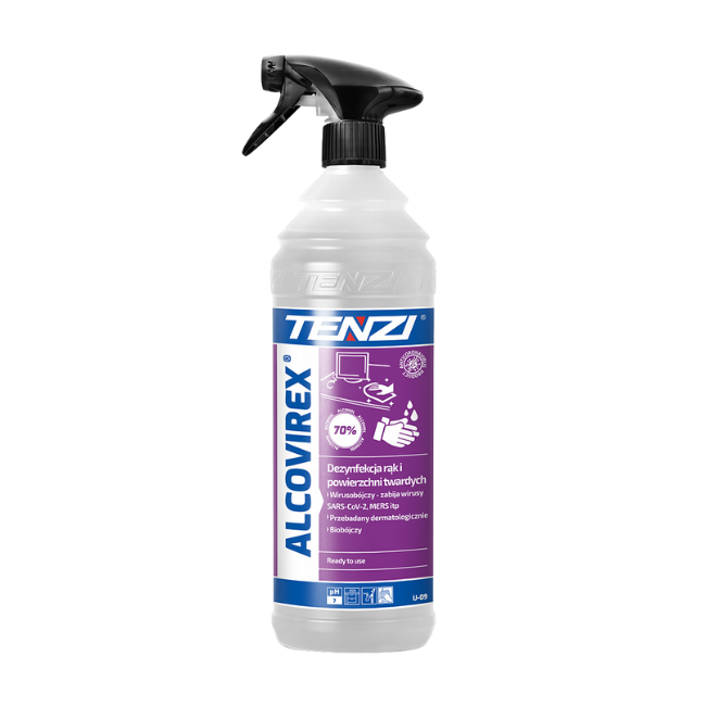 Hand and ANY Surface Disinfectant with a virucidal effect