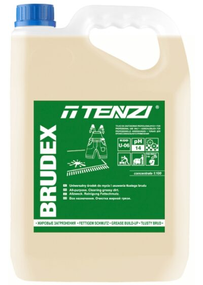 All-purpose cleaning-degreasing product designed for removing impurities of organic origin