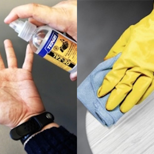 HAND AND SURFACE Tenzi UK Cleaning products