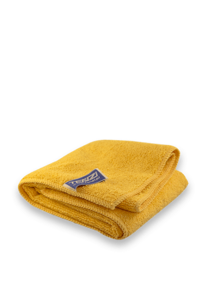 Microfibre cloth 400 gsm – yellow Tenzi UK Cleaning products