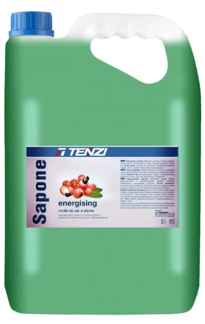 Liquid soap for hands and body with guarana aroma