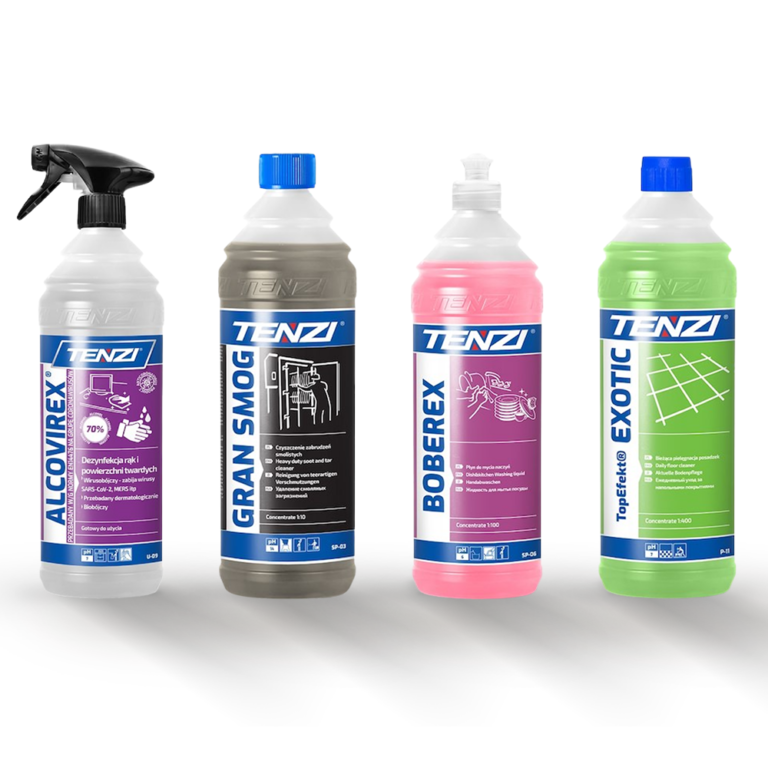 Gastro produkty Tenzi UK Cleaning products